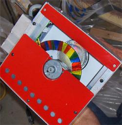 The Illuminator is made to make fiber optic magic