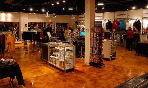 A retail space that has been restored by Premier Veneers