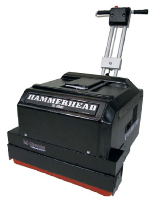 The HID Ultraviolet Hammerhead 26-8000A, a floor-curing unit.