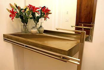 Best Integral Sink Advanced Concrete Enhancement Sun Valley, Calif.