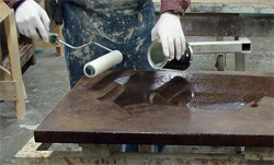 The steps you take with your wet-cast or GFRC countertops prior to sealing them will affect your long-term success more than how you apply the sealer.