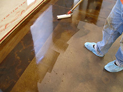 Solvent-based acrylic sealers are particularly popular among decorative concrete contractors.