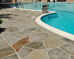 "Another company that played a role in the project was Jefferson, Md.-based Stateside Construction Co. (also known as ""The Pool Caulking Pros""), which supplied and installed custom-colored pool caulking material after the Pure Texture system installation was complete."