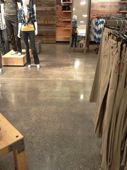 """The Original Arizona Jean Co.'s new """"shops""""also feature polished gray floors, as in this women's shop at Governor's Plaza in Cincinnati."""