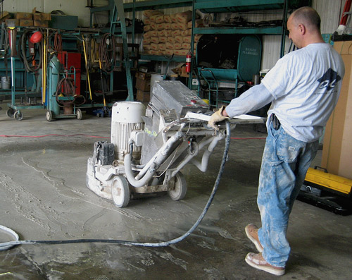 With a little research, you can get a feel for how a floor will polish before moving the equipment onto the floor. Photo by Paul Turner