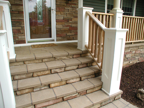 How We Installed An Overlay Over A Wood Deck Concrete Decor