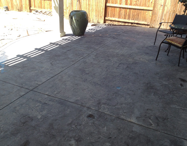 Fix Flaws in Poorly Stamped Concrete