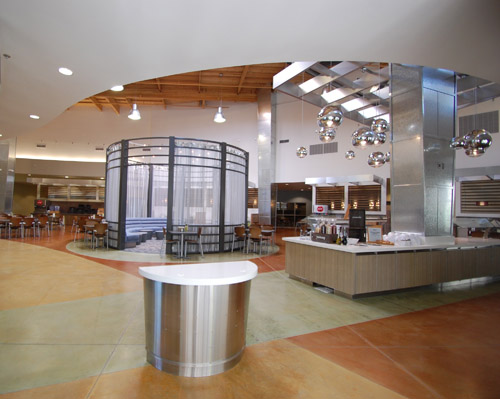 Their winning entry — a 19,400 square-foot dining facility with open-style kitchen and specialty eatery areas at William Jessup University in Rocklin, Calif.